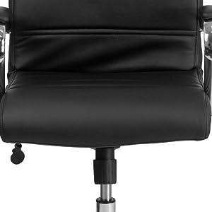 Seat, ergonomic seat, waterfall seat