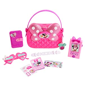 girls play purse, pretend play pink cell phone, dress up, role play, girls pink sunglasses