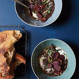 beet lentils
