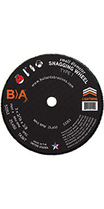 Small Diameter Snagging Wheels