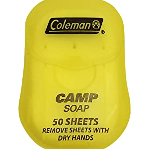 Travel soap sheets container