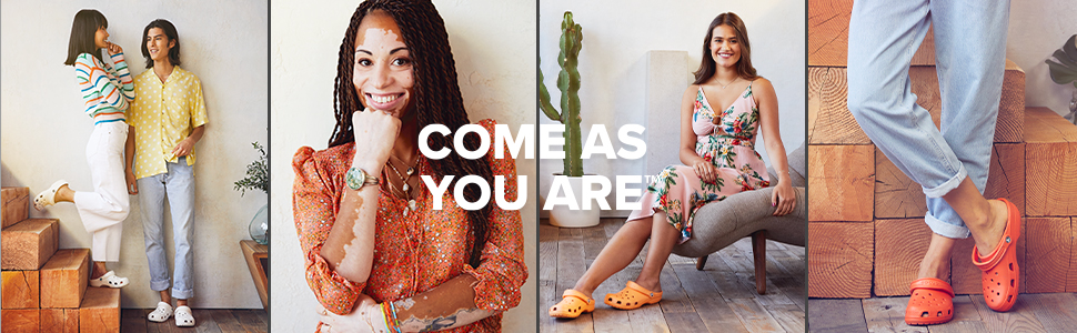 Crocs, shoes, classic, adult, come as you are