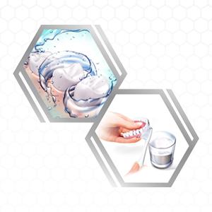 Step 4: Remove the denture
