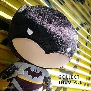 "YuMe 7/"" Peluche-dznr Batman /""Blackout/"" Edition Collector Batman 80 ans"