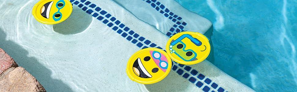 swimming,pool,emoji,dive,disc,toy,kid,children,game,outdoor,fun,swim,summer,diving,underwater,water