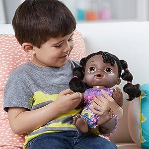 Amazon Com Baby Alive Sweet Tears Baby African American