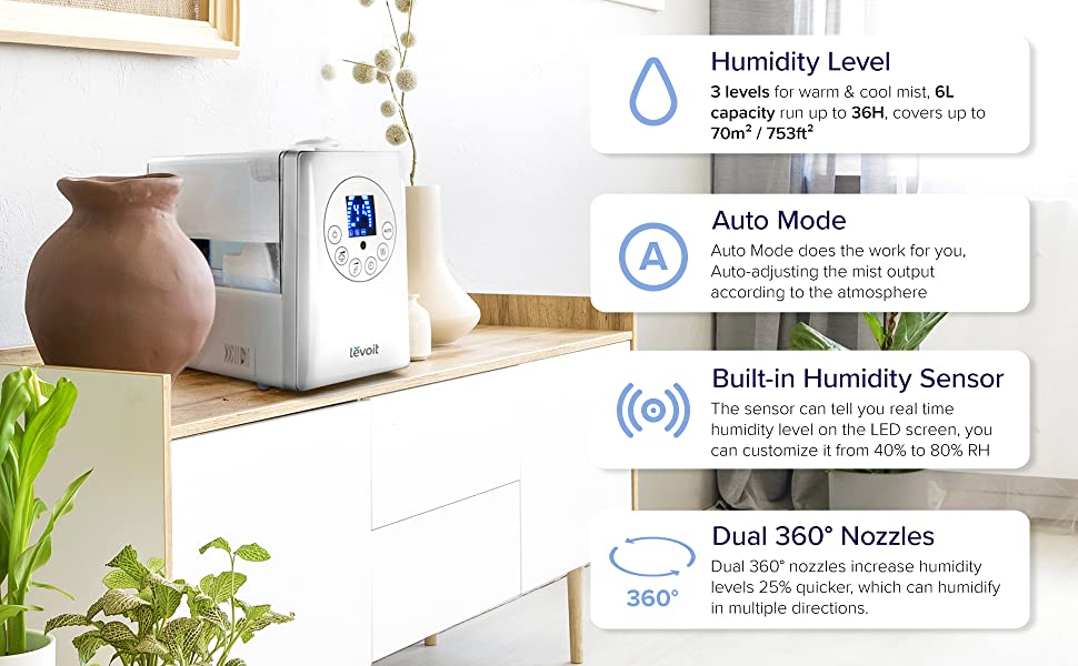 humidifier for office, bedroom,baby room,for cold, cough