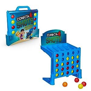 Hasbro Gaming - Juego de mesa Conecta 4 Shots (Hasbro E3578175 ...