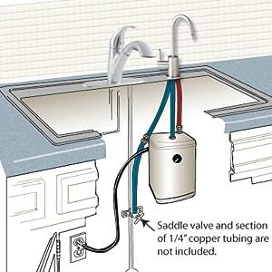 insinkerator, ready hot water tank, insinkerator hot water dispenser, insinkerater, instant hot,