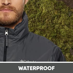 columbia, jackets, hiking, rain jacket, waterproof, camping, gear, hood, removeable, hoodie, adjust