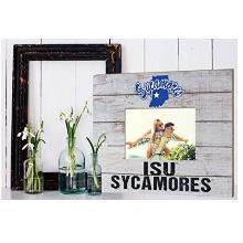 Indiana State Sycamores Team Spirit Slat Frame