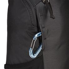 Thule backpack, Thule daypack, lash point, daisy chain, attachjment point, caribiner, carabiner, key