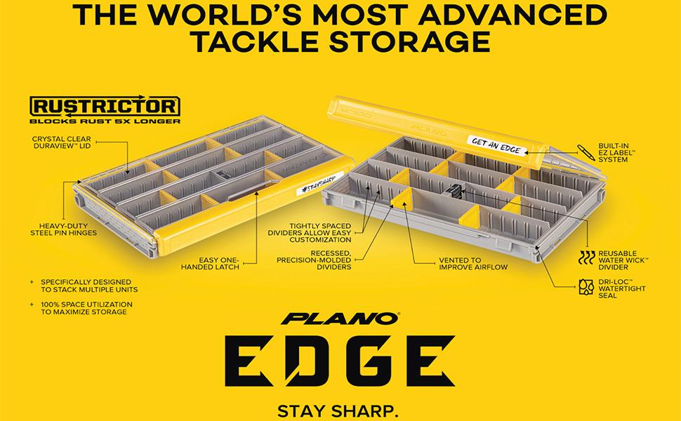 Plano Edge tackle organizers, Plano EDGE, KastKing, Plano 3700, Plano 3600, Plano terminal storage
