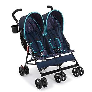 delta children stroller twins side by side tandem baby
