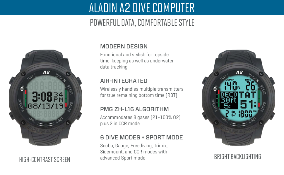 Aladin A2 Dive Computer