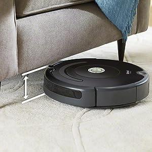 sous meubles aspirateur robot irobot roomba