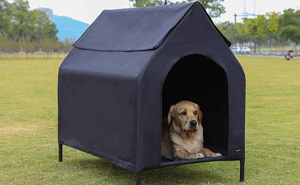 Elevated Portable Pet House
