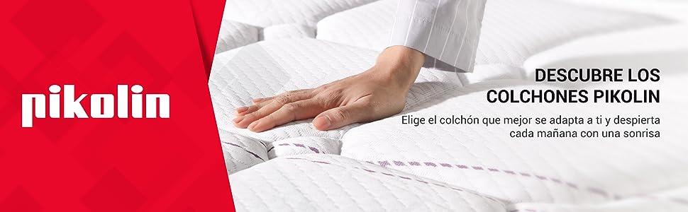 Colchón de muelles ensacados y visco, 135x190, firmeza Alta, dos caras, máxima Calidad, 27 cm.Modelo Vari