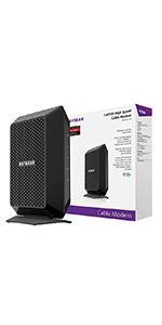 Amazon Com Netgear Cm400 8x4 Docsis 3 0 Cable Modem No
