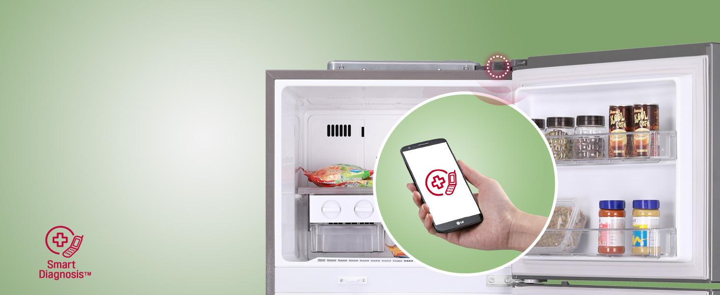 LG smart Diagnosis refrigerators