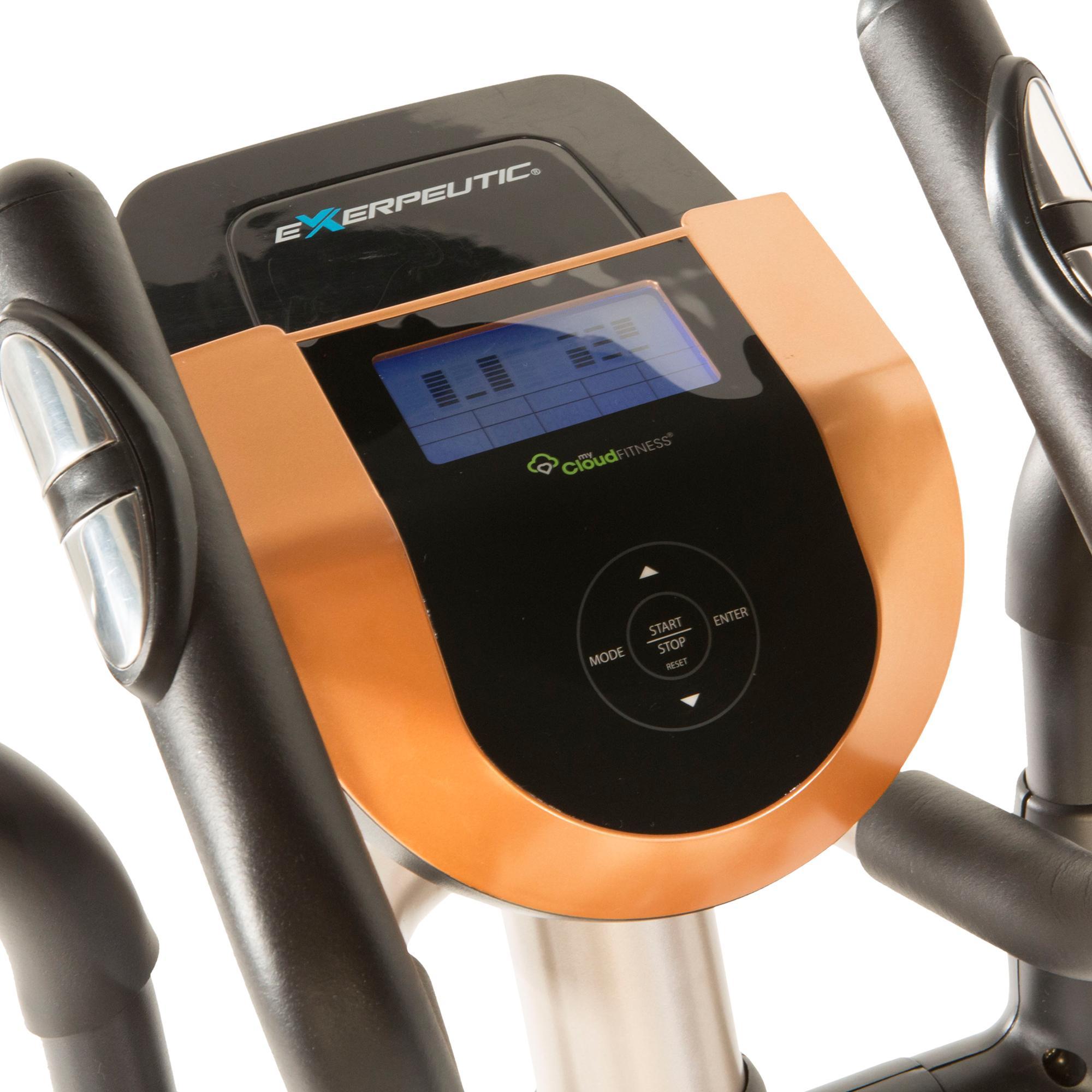 Horizon Elliptical App: Amazon.com : Exerpeutic Gold 2000XLST Bluetooth Smart