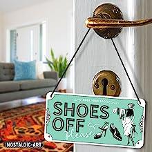 Schoenen off