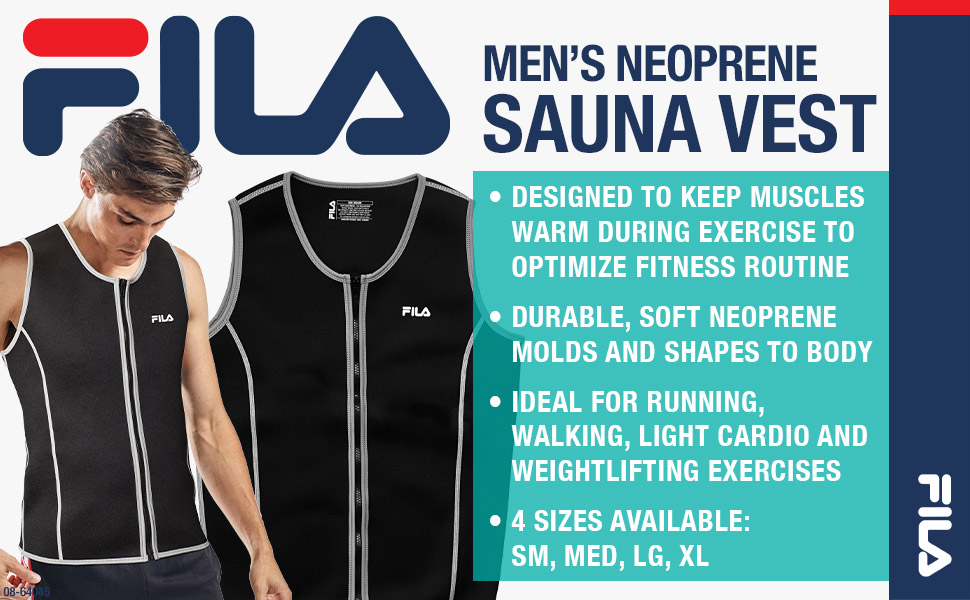 FILA Accessories Men's Neoprene Sauna Vest