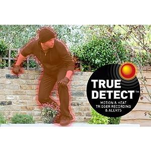 True Detect Thermal Sensing Motion Detection