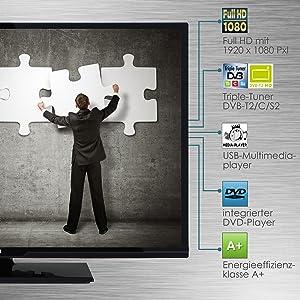 Telefunken XF32D101D 81 cm (32 Zoll) Fernseher (Full HD