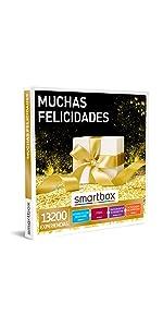 Muchas felicidades caja regalo Smartbox