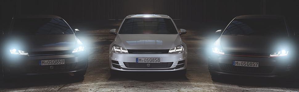 Osram Ledriving Led Scheinwerfer Chrome Edition Als Halogenersatz Zur Umrüstung Auf Led Ledhl103 Cm Für Linkslenkerfahrzeuge 1 Komplett Set Auto