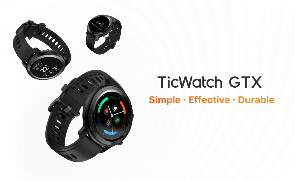 Mobvoi TicWatch GTX Fitness Smart Watch