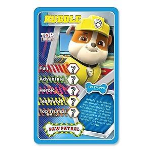 Paw Patrol Top Trumps Card Game