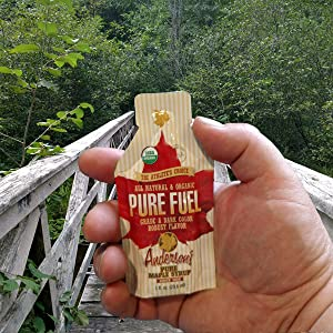 Pure Fuel, Hiking,Real Maple Syrup, Maple Syrup Energy Packets, Individual syrup packets