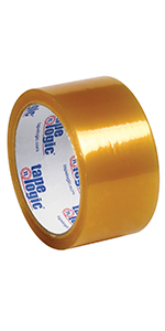 Tape Logic Natural Rubber Carton Sealing Tape for Secure Boxes