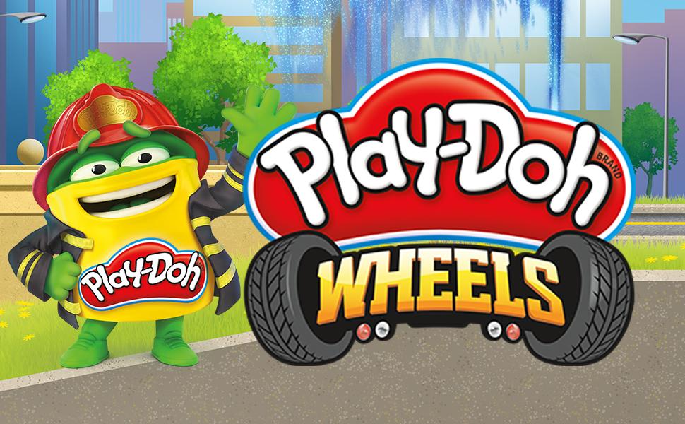 play-doh wheels