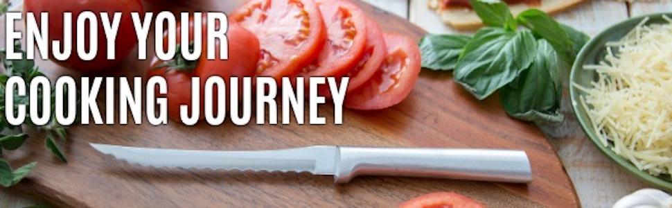 Amazon.com: Rada Cutlery Cuchillo para cortar tomate con ...