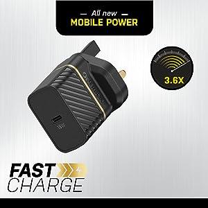 Otterbox Fast Charger English Version With 18w 1x Elektronik