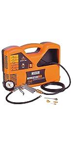 Compresor; comprimido de aire; electrodomésticos; petróleo; Stanley; Revolutionair; Black+ ...