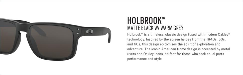 Holbrook Matte Black w/Warm Grey