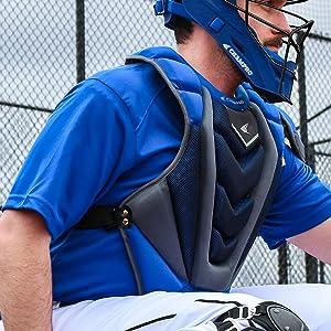 CHAMPRO Optimus Pro Rubberized Matte Finished Hockey Style Baseball//Softball Catcher/'s Headgear