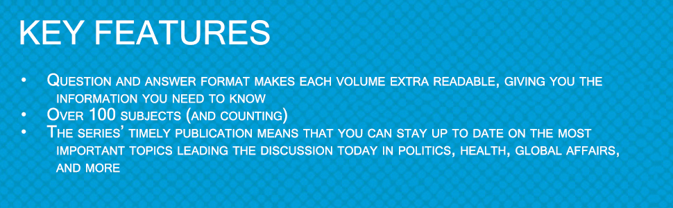 what everyone needs to knoq, question and answer guides, readable, 100 subjects, current events