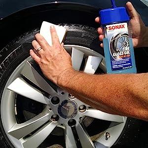 sonax tire gel cleaner detailer silicon