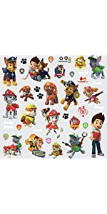 Paw Patrol Peel and Stick Wall Decals, peel and stick wall decals