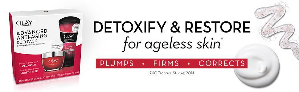 Detoxify & restore for ageless skin