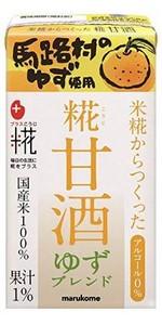 マルコメ 米糀からつくった糀甘酒 ゆずブレンド 125ml×18本