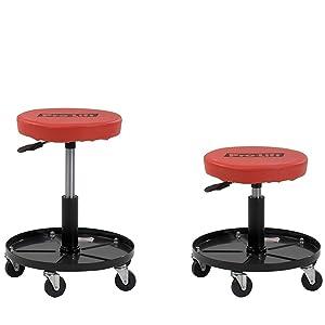 Pro Lift C 3001 Grey Pneumatic Chair Roller Seats
