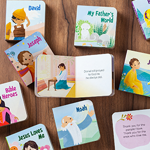 bible stories small padded board books