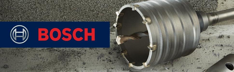 Bosch SDS-max 1pc Core Bits for Concrete with Carbide Pilot bit