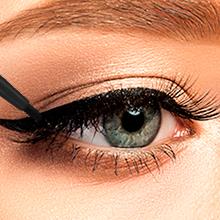 Winged Eyeliner, Black Eyeliner, Kajal